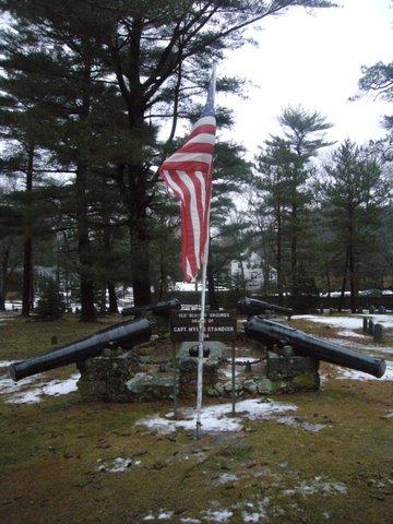 Miles standish grave