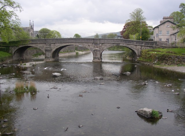 Miller Bridge, Kendal - geograph.org.uk - 168040