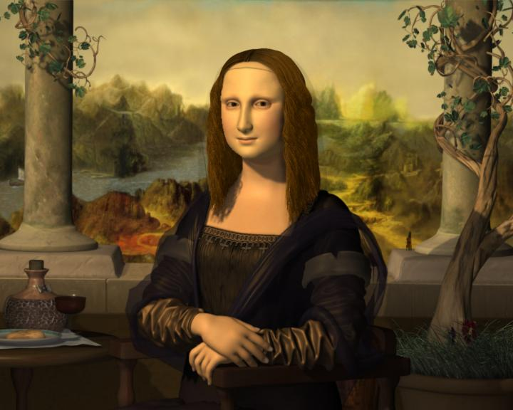 the mona lisa description This lesson discusses the history of the one of the world's most famous paintings, the mona lisa learn more about leonardo da vinci's masterpiece.