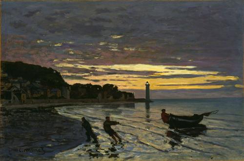 File:Monet - Towing a Boat, Honfleur, 1864.jpg
