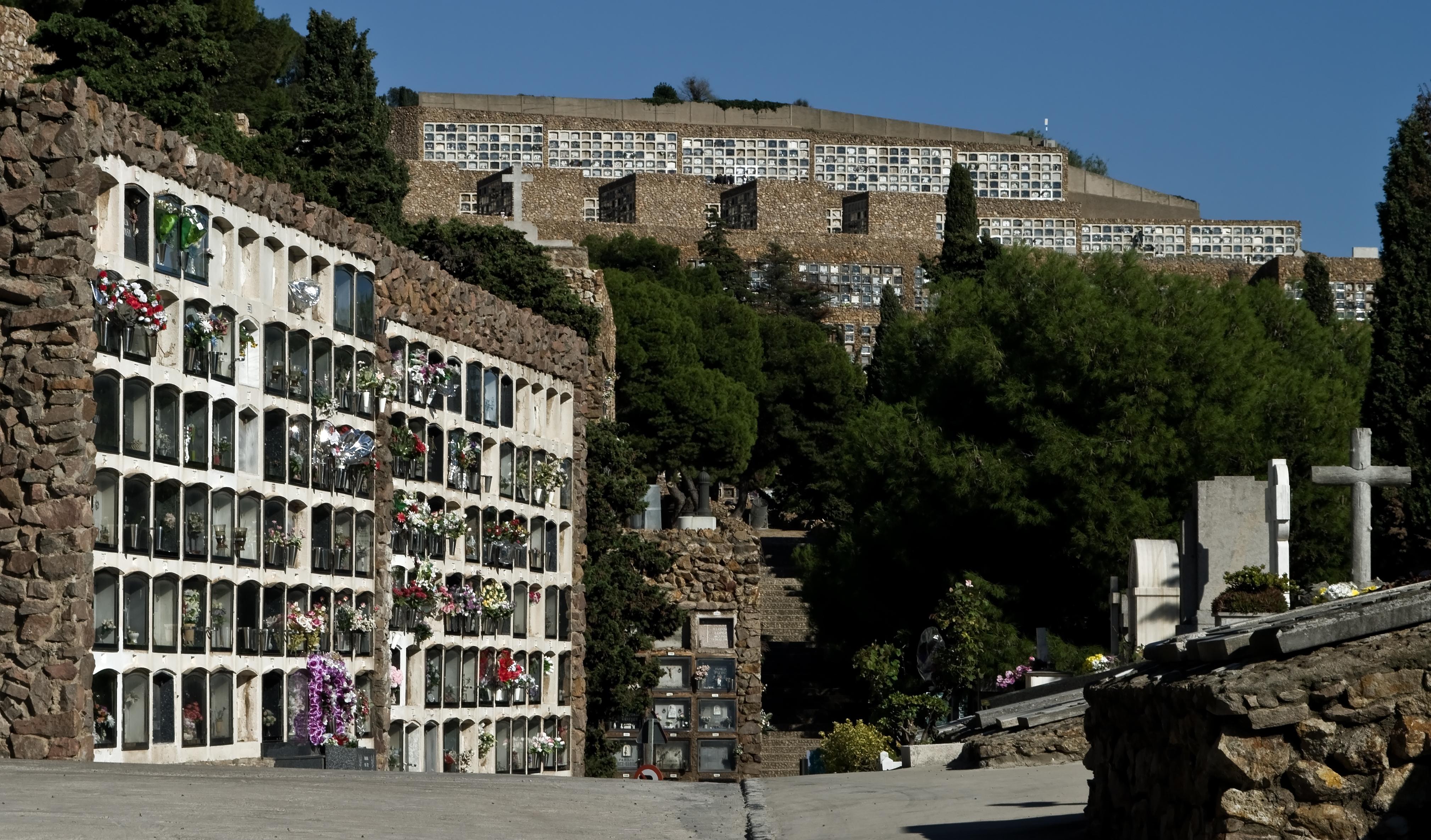Montjuic Cemetery Barcelona
