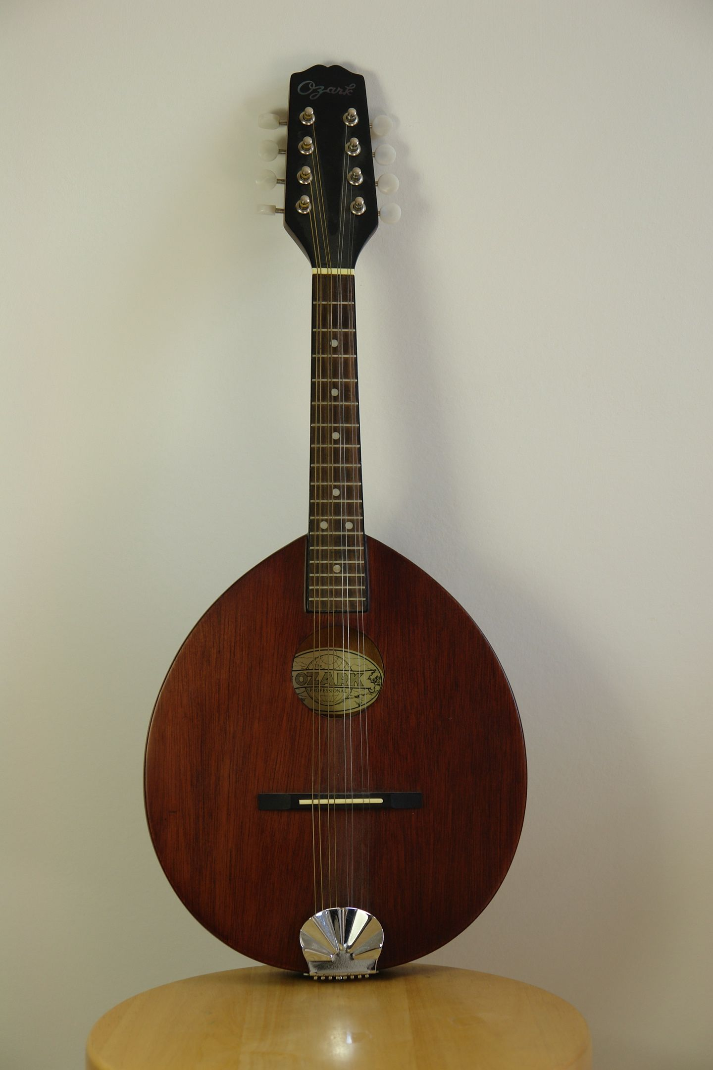 Flat-Backed Mandolin