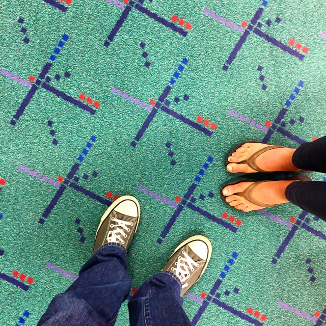 Portland International Airport carpet - Wikipedia