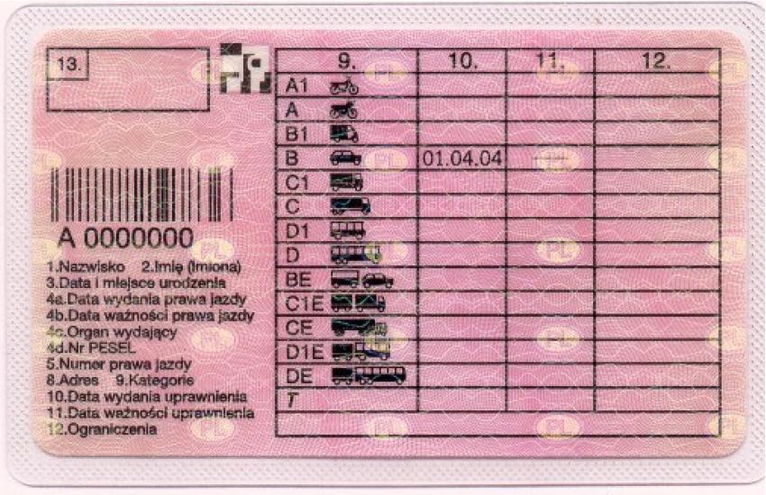 Nowy wzór prawa jazdy. Wymiana w najbliższych latach czeka wszystkich i trzeba będzie za nią zapłacić