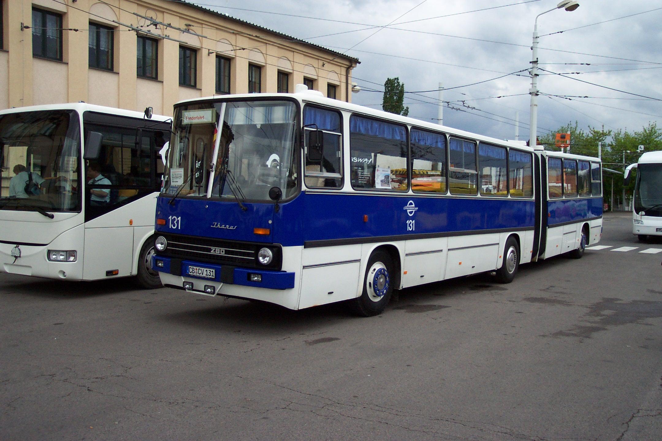 Filepardubice Vozovna Dukla Ikarus 280 Cottbus Iijpg