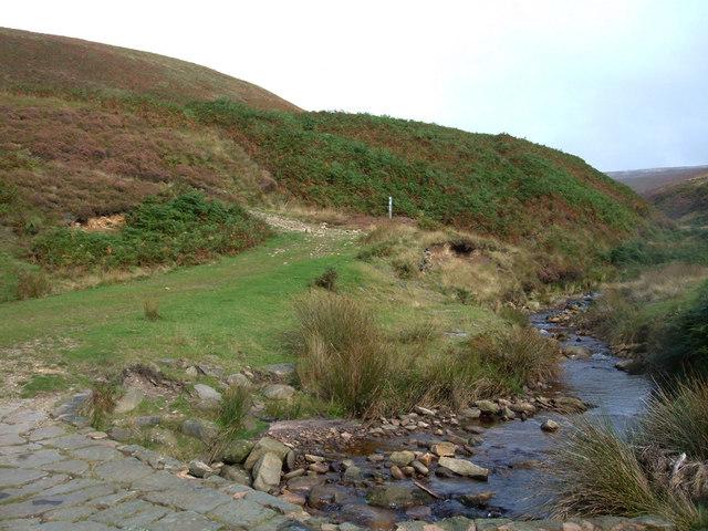 Pennine Bridleway, Ogden Brook - geograph.org.uk - 569080