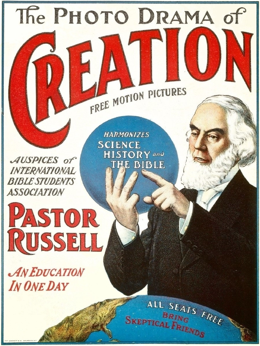 English: cover of the Photodrama of Creation