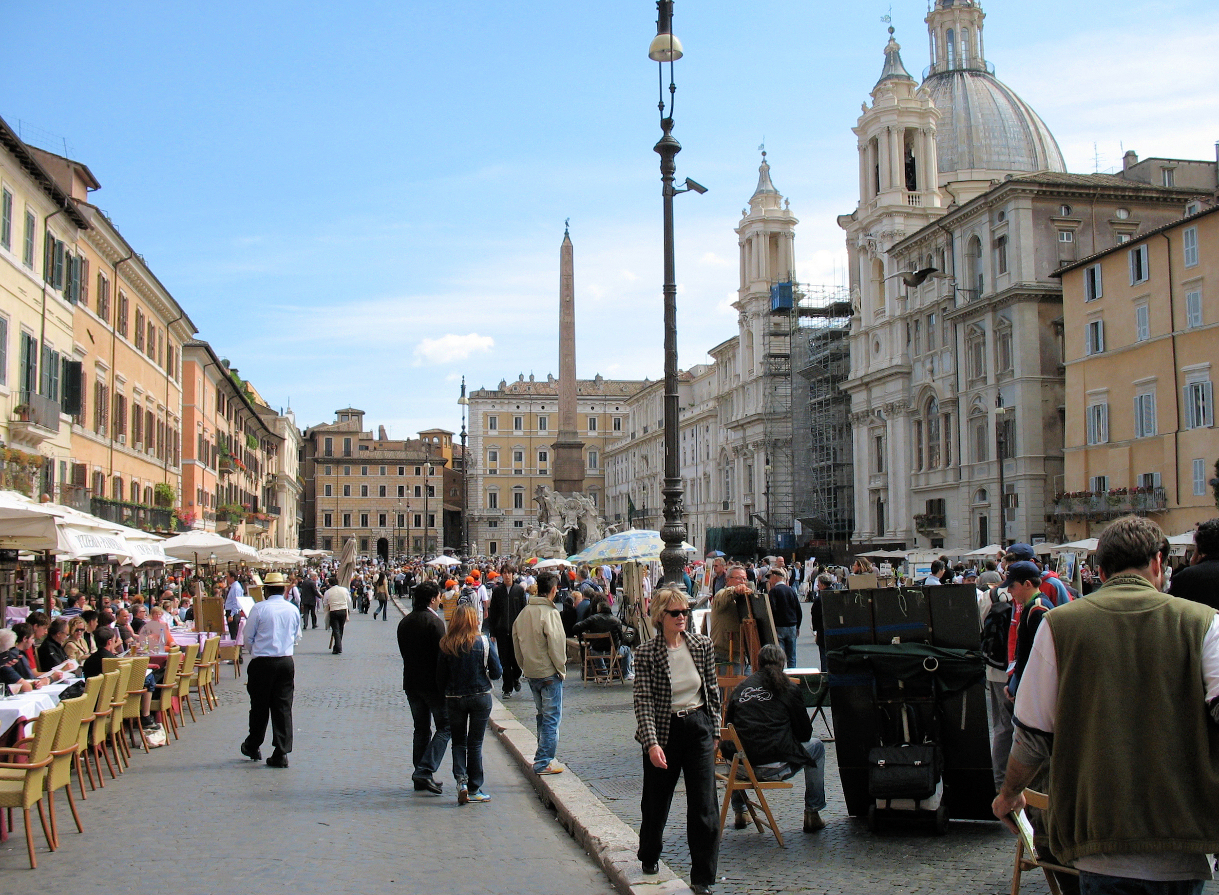 Rome Italy  city photo : Piazza Navona, Rome, Italy in 2006 Wikipedia