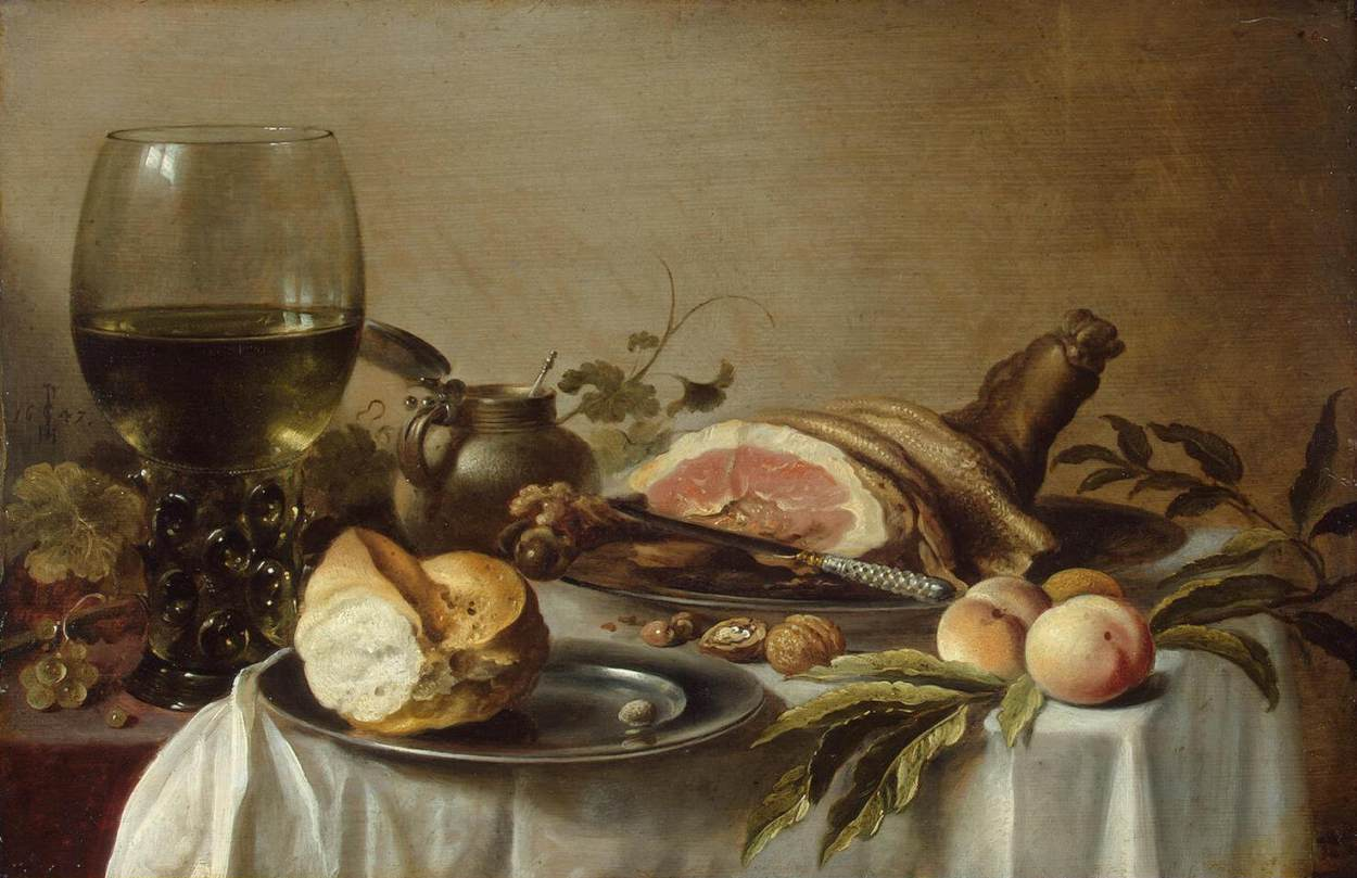 File pieter claesz still life for 18th century cuisine