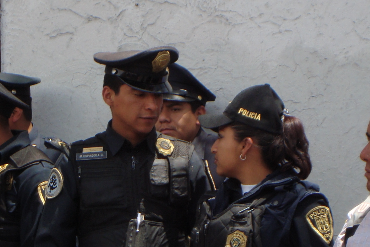 police in airport