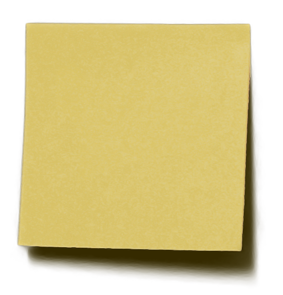 Post-it-note-transparent