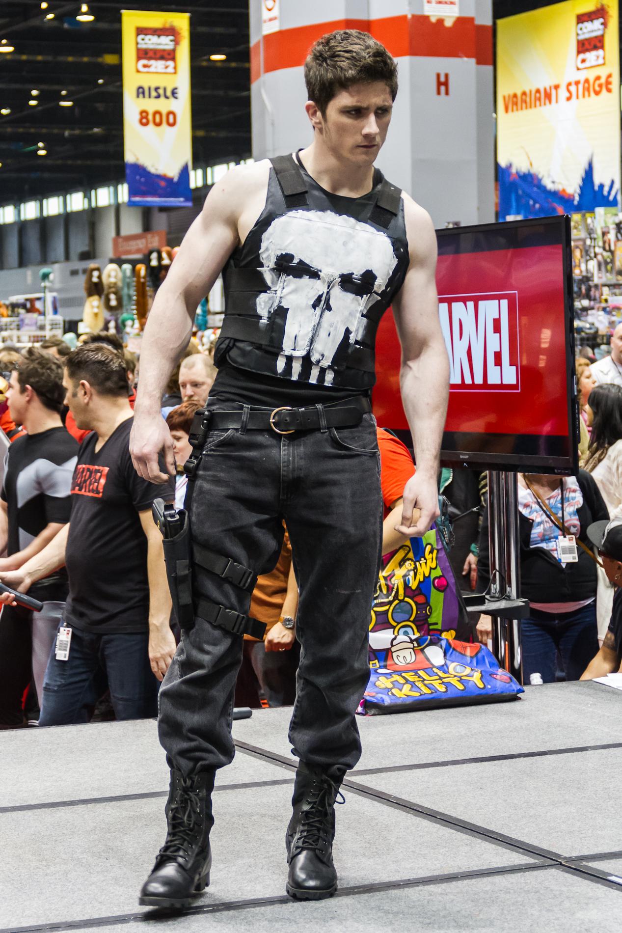 File:Punisher at C2E2 2012 Marvel Costume contest.jpg