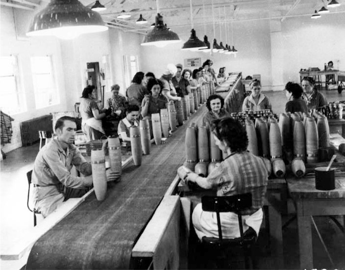 1940s munitions production at Redstone Arsenal