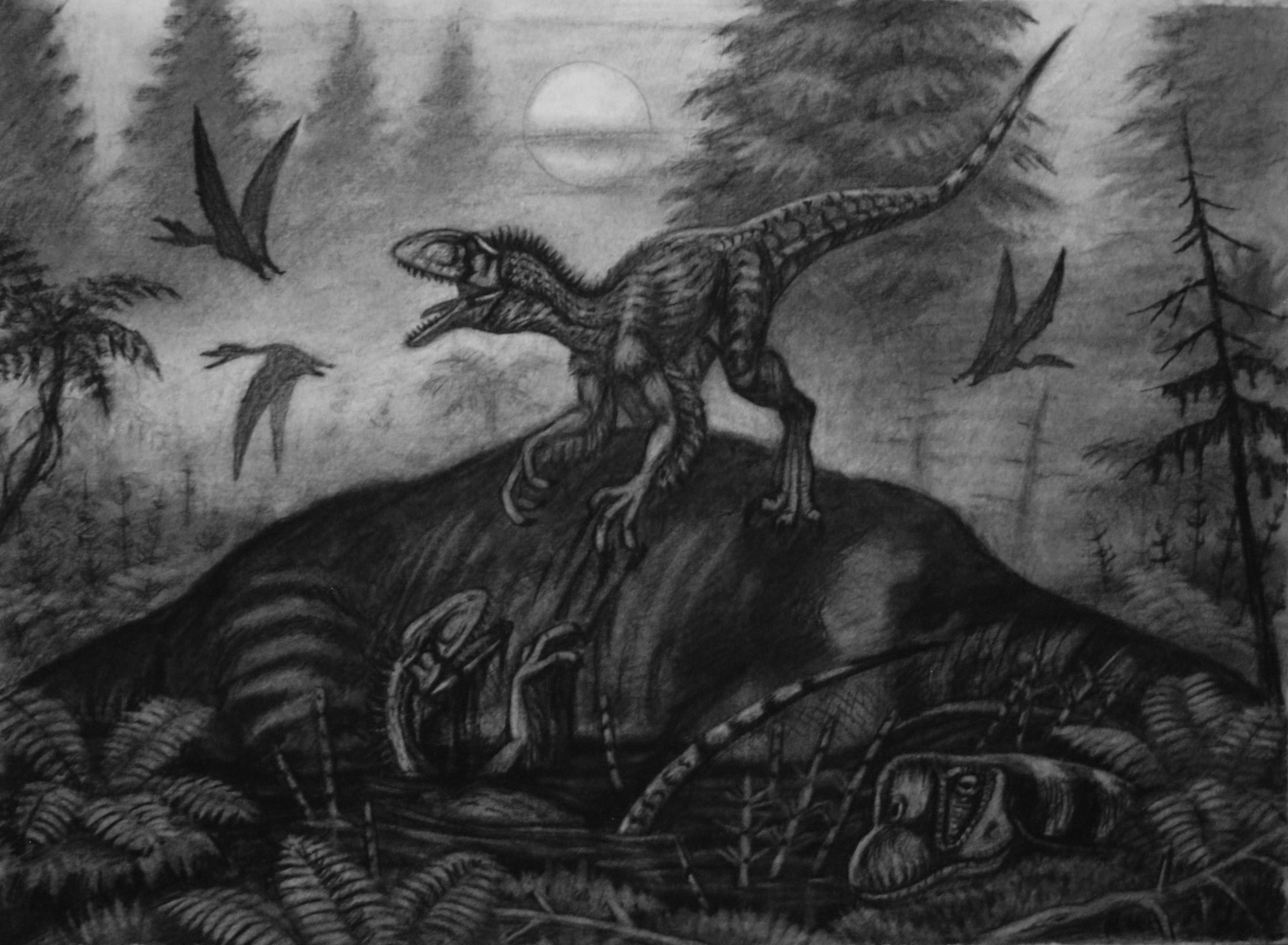 Dientes-garras-mortíferas-cazar