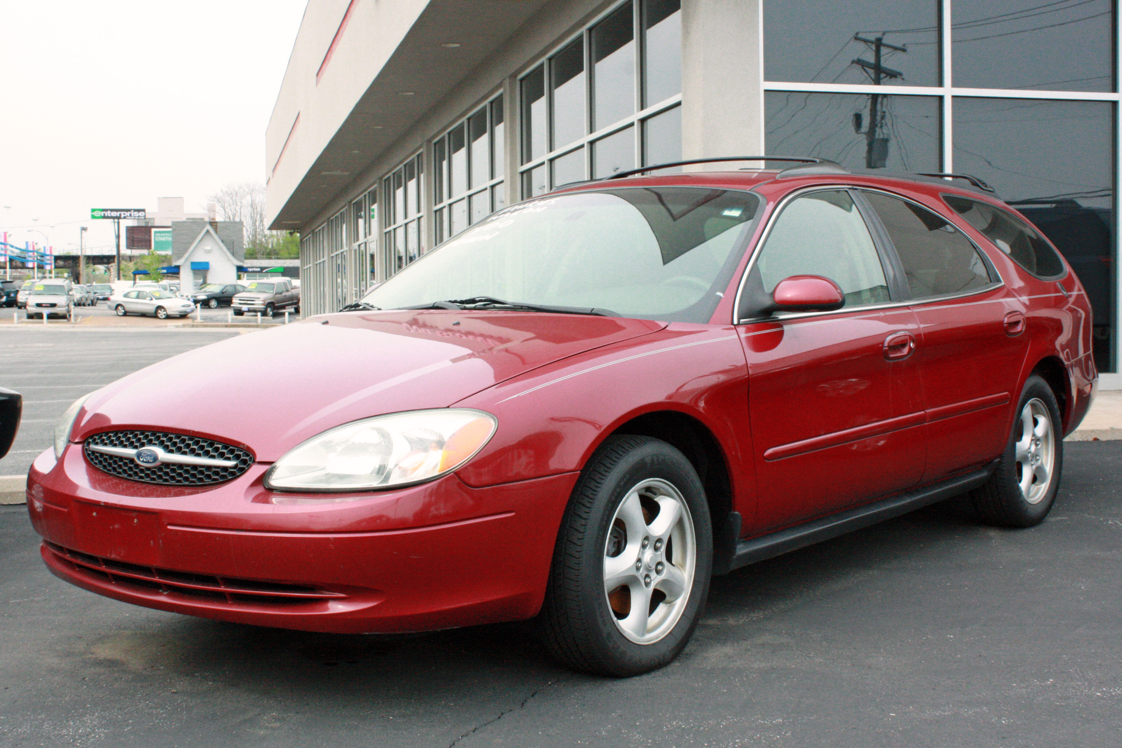 2000 Ford Taurus Station Wagon Owners Manual