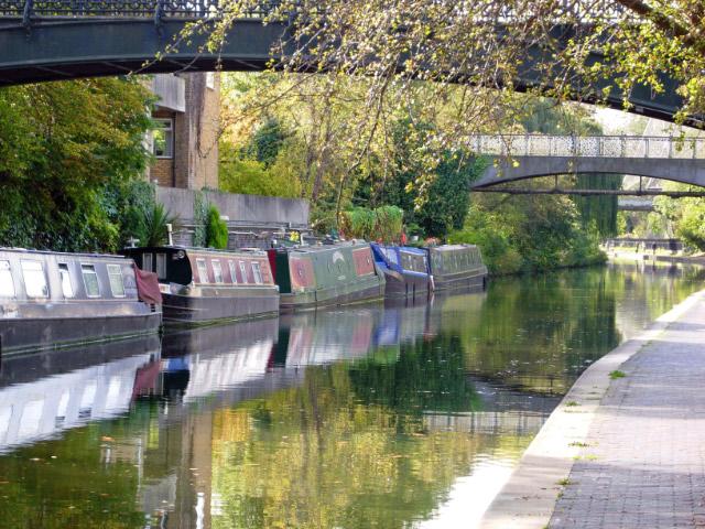 Regent's Canal, Regent's Park - geograph.org.uk - 588764