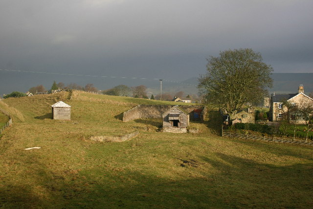 Remains of Railway Buildings, Romaldkirk - geograph.org.uk - 78215