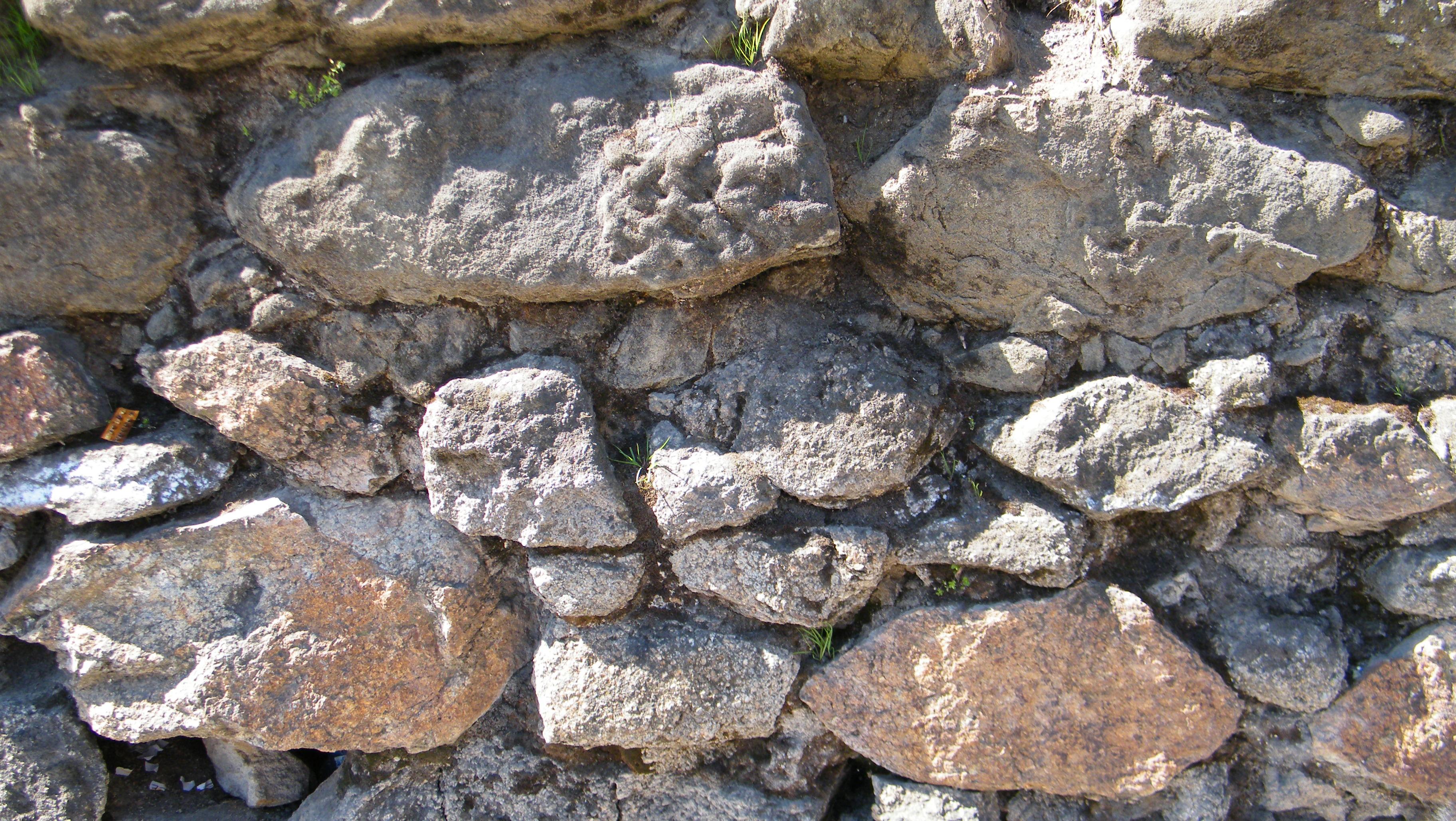 File restos de los muros de piedra del convento de la - Muros de piedra ...