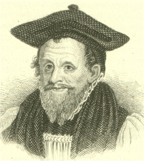 "Archbishop Richard Bancroft was the ""chief overseer"" of the production of the Authorized Version. Richard Bancroft.png"