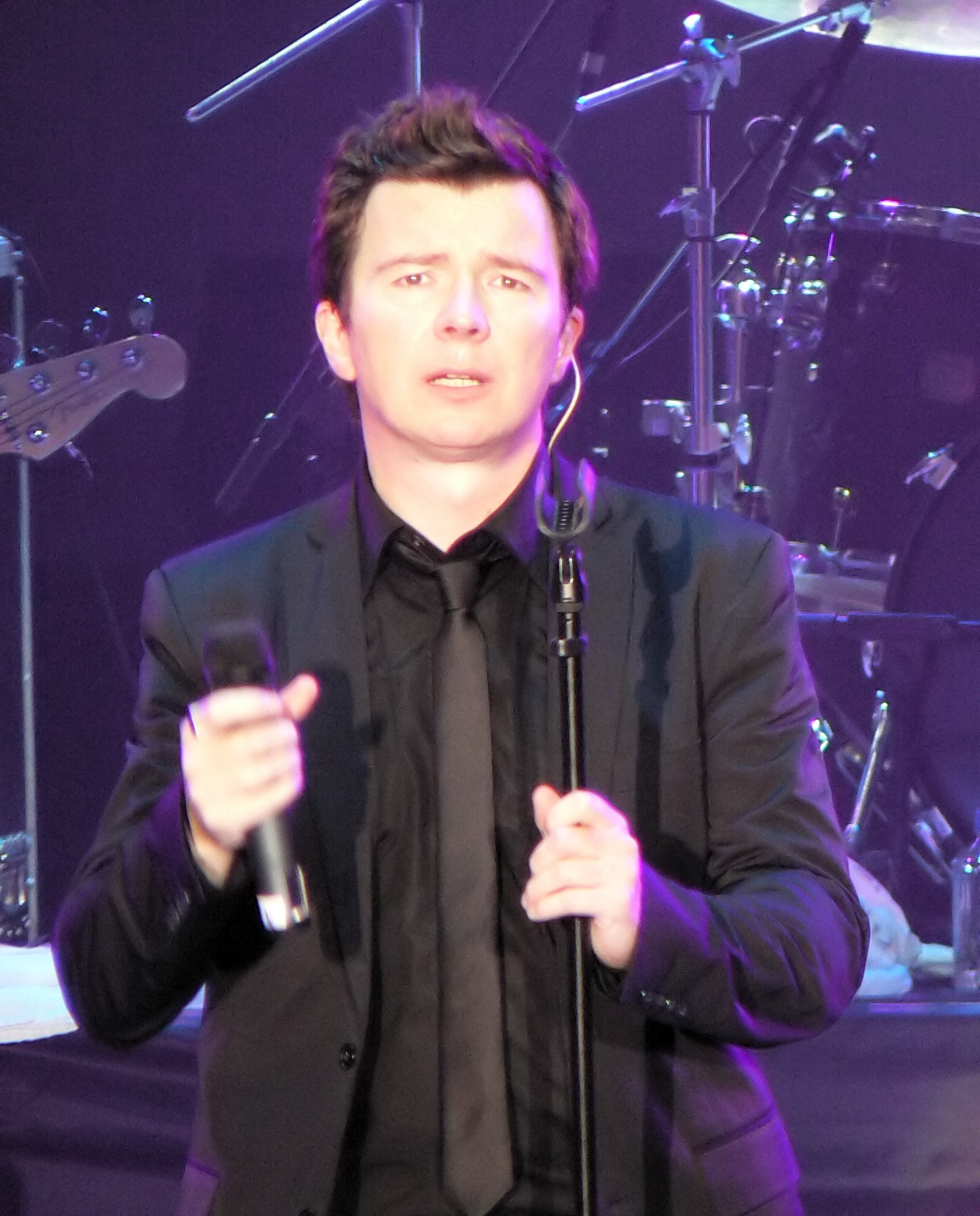 While Rick James sits in his grave, Rick Astley enjoys inexplicable popularity. Why?????