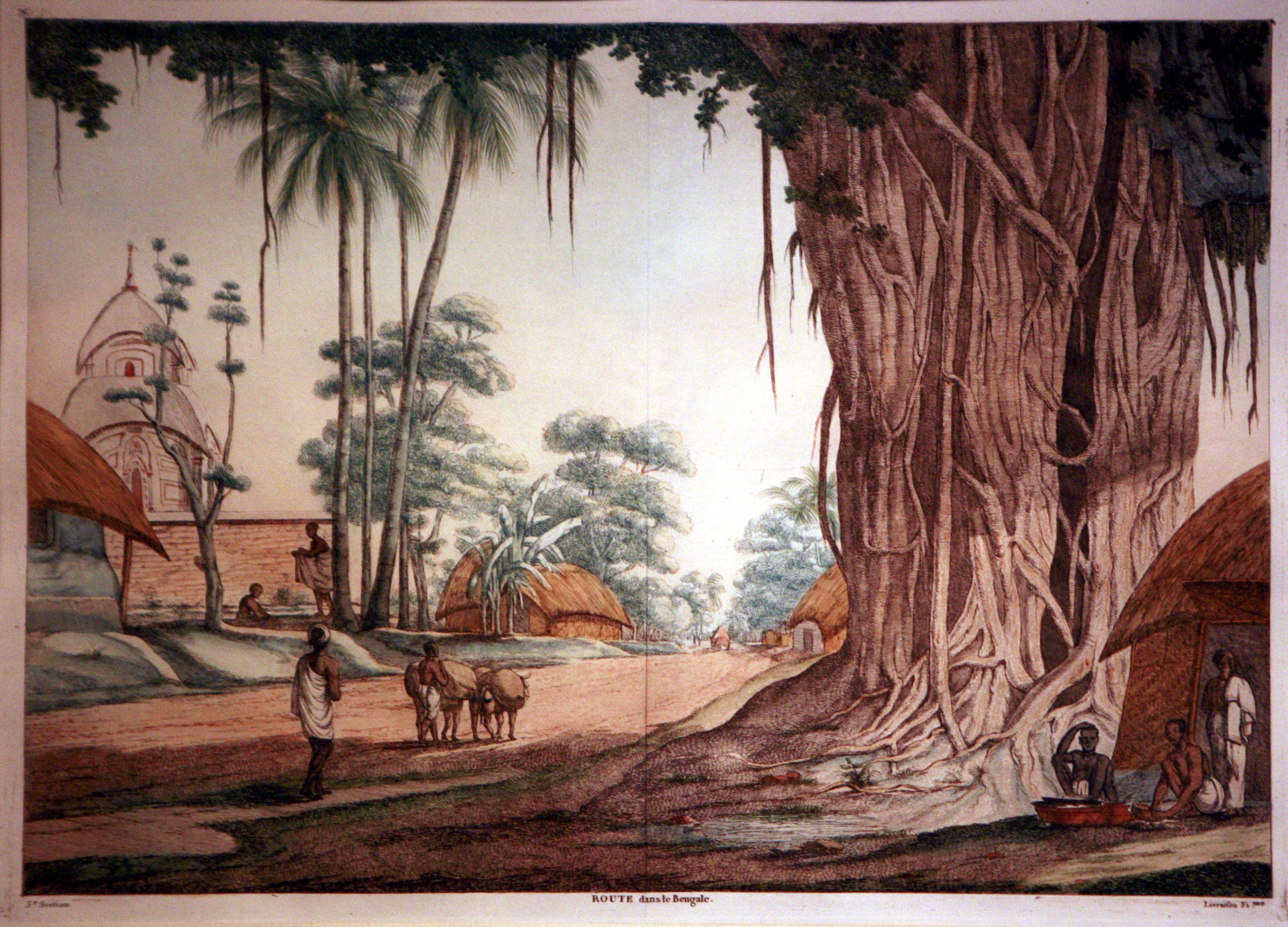 Road in Bengal