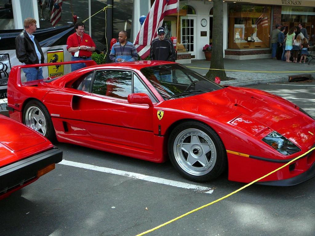 File Sc06 1991 Ferrari F40 Jpg Wikimedia Commons