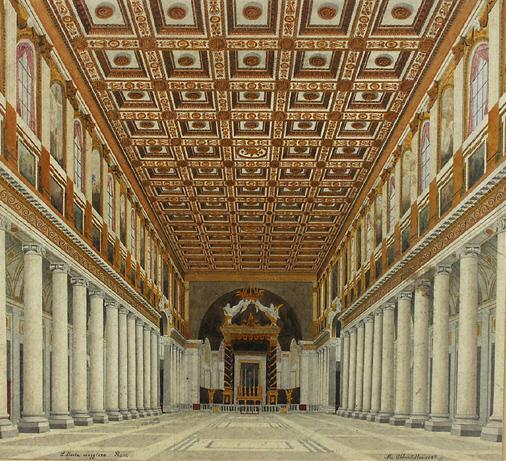 File santa maria maggiore roma interior for Interno 5 b b roma