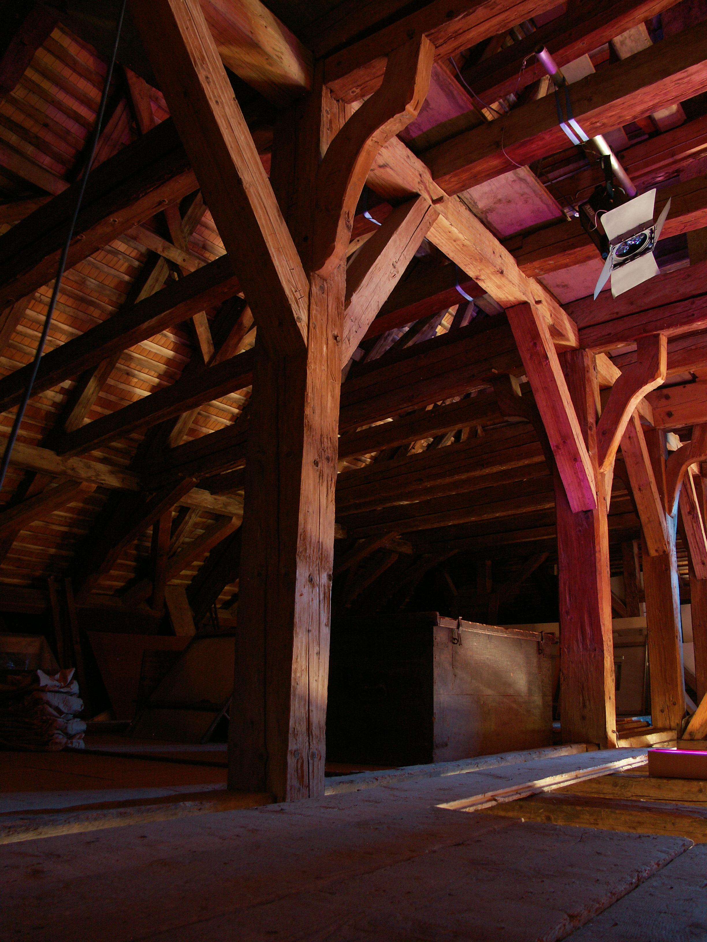 Fabelhaft Dachboden Galerie Von File:schloss Werdenberg Dach.jpg