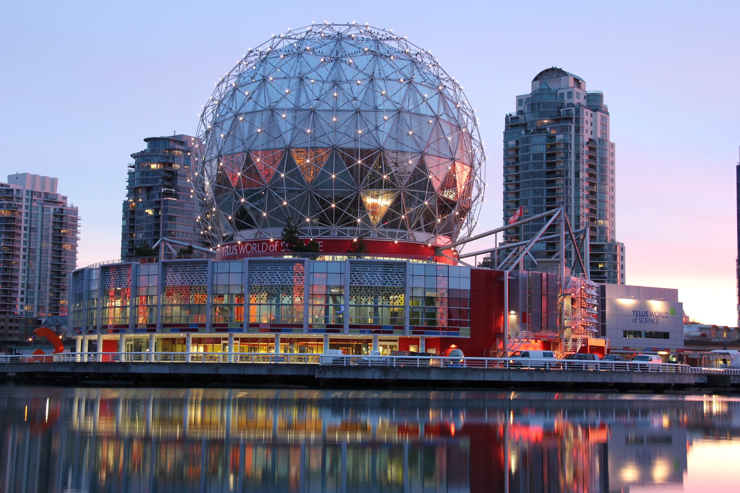 Science World at Telus World of Science, Vancouver.