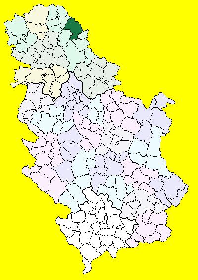 kikinda mapa srbije Kikinda (općina) – Wikipedija kikinda mapa srbije