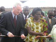 American Ambassador Aubrey Hooks and Ivoirian ...