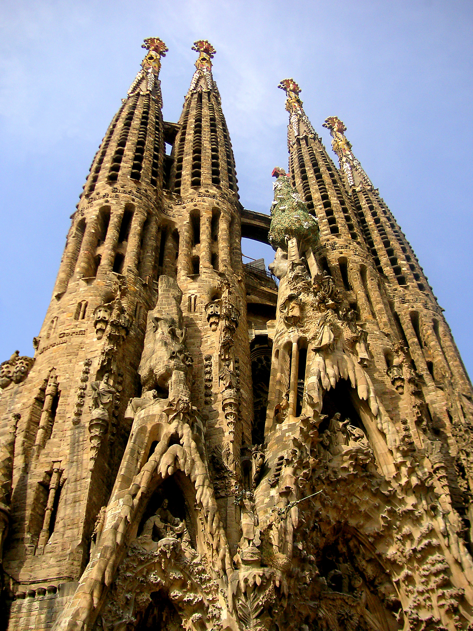 File spain sagrada wikipedia for La sagrada familia en barcelona