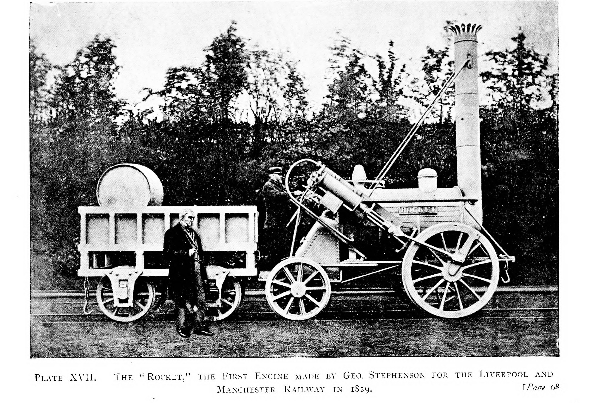 """File:The """"Rocket,"""" the First Engine made by Geo ..."""