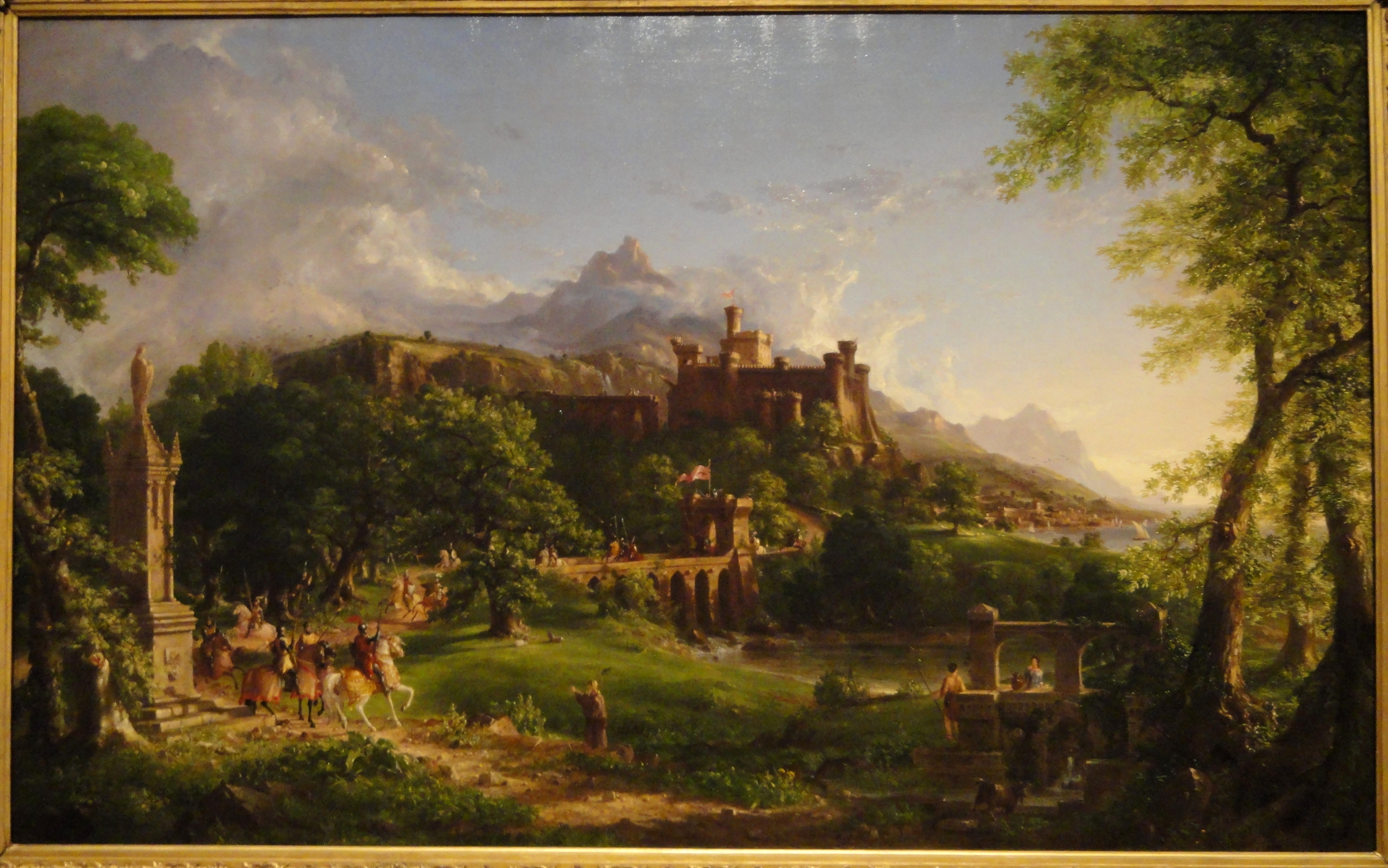 art history thomas cole Renowned as the home of thomas cole, the father of american art, who  a  self-guided tour of the area's historical and artistically important hot spots.