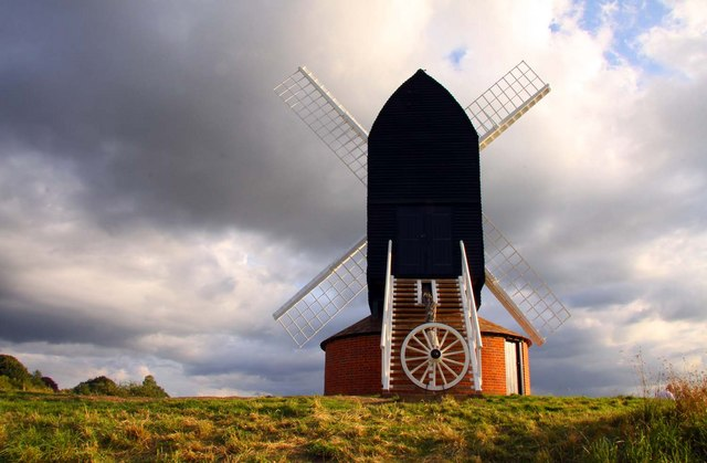 The rear of Brill Windmill after restoration - geograph.org.uk - 1414322