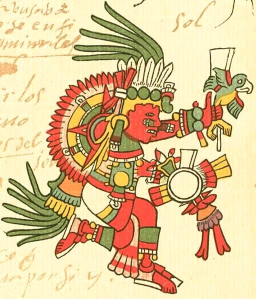 aztec god of the sun name