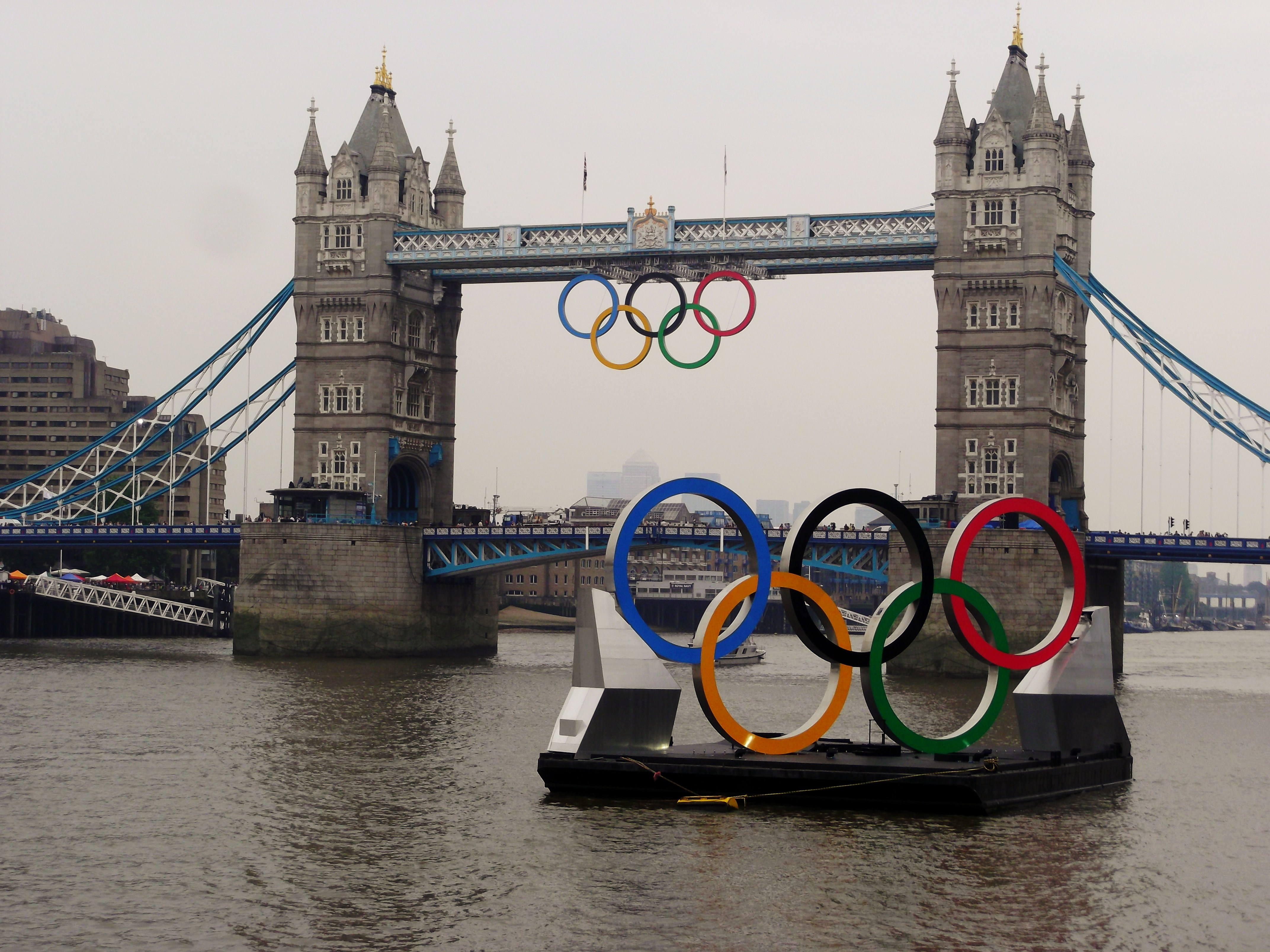 Olympics Rings In England