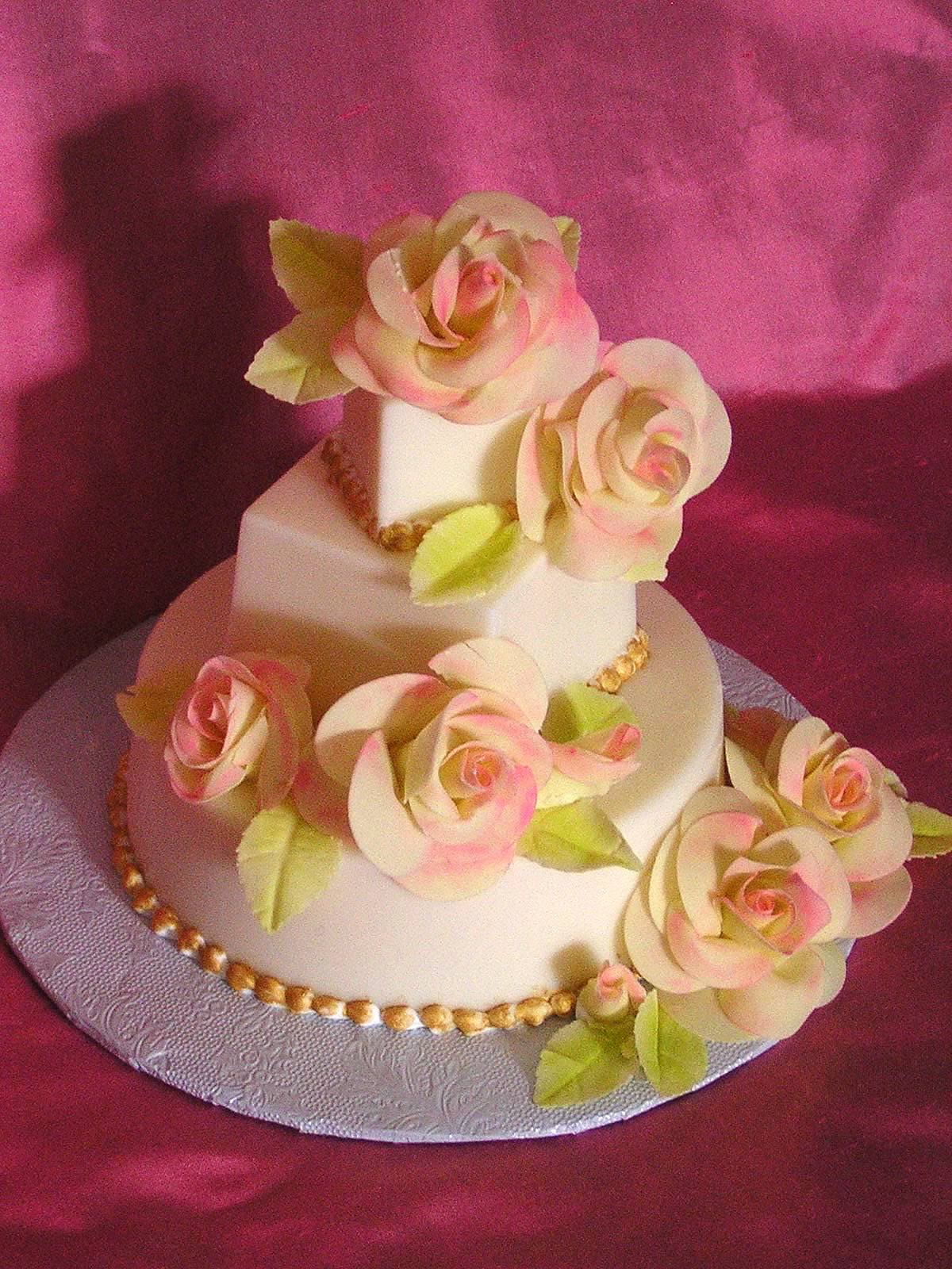 Cake Boss Wedding Cake With Doves Viewing Gallery