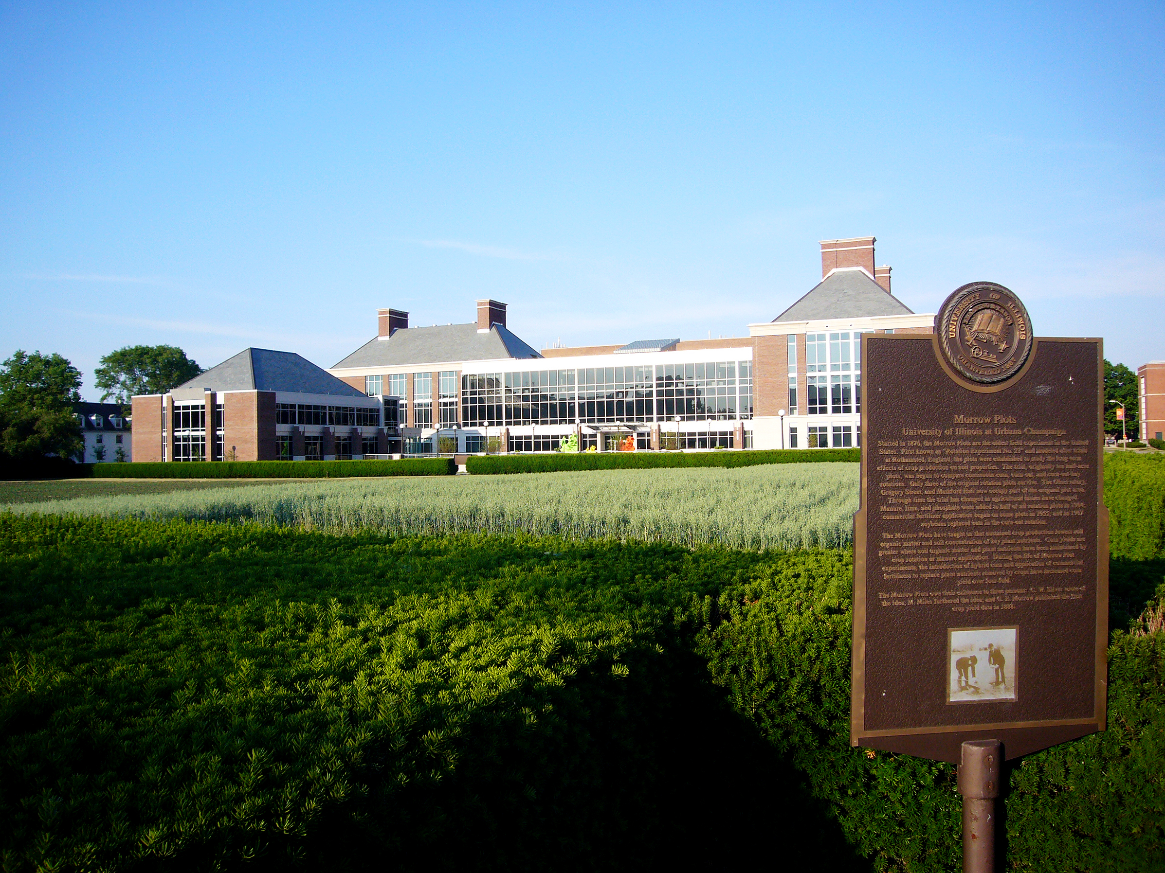 The Morrow Plots at University of Illinois at Urbana-Champaign.