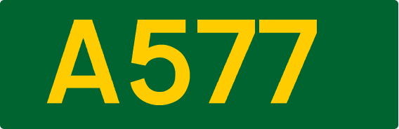 A578 road
