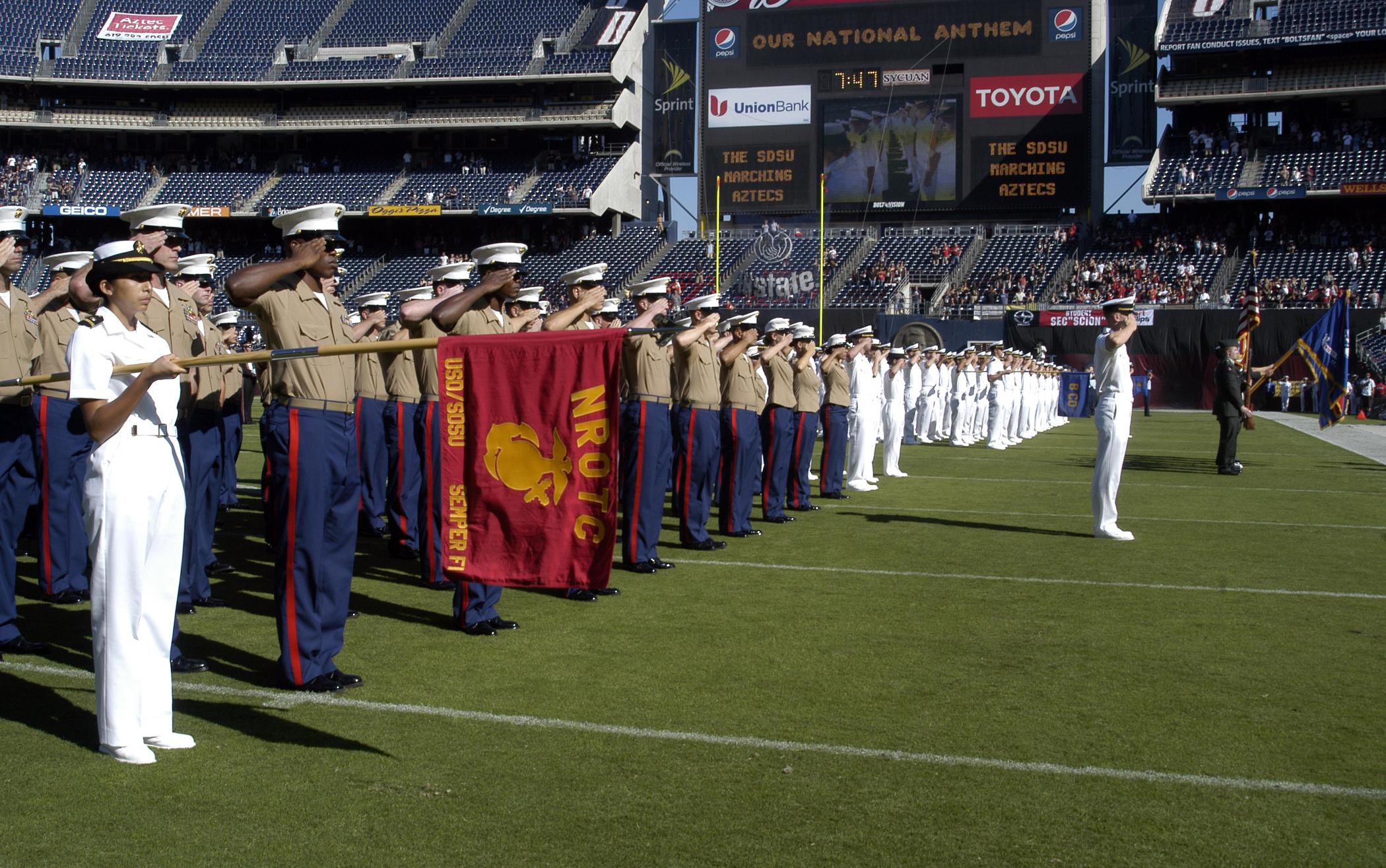 File:US Navy 091018-N-3581D-034 Navy ROTC San Diego members salute ...