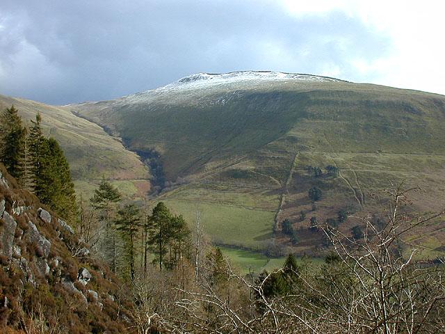 View towards Mynydd Dol-ffanog - geograph.org.uk - 955644
