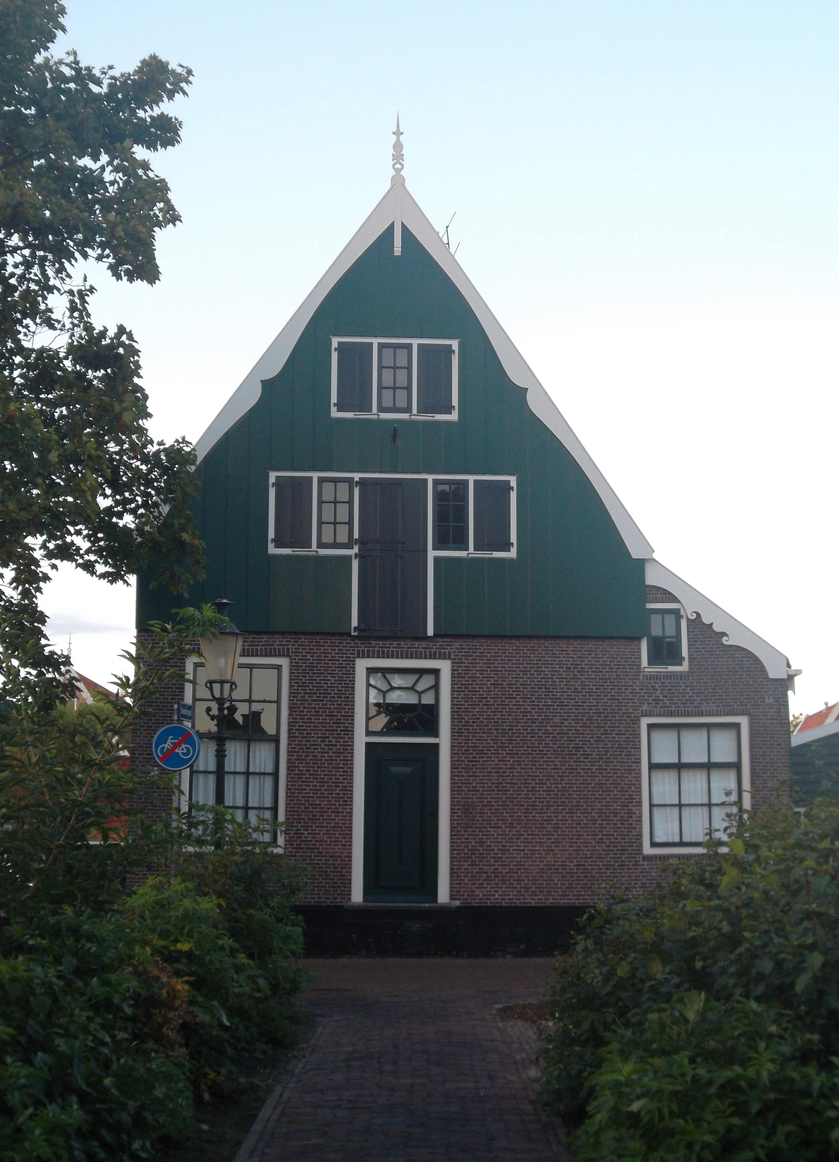 Houten huis in de rijp monument - Houten huis ...