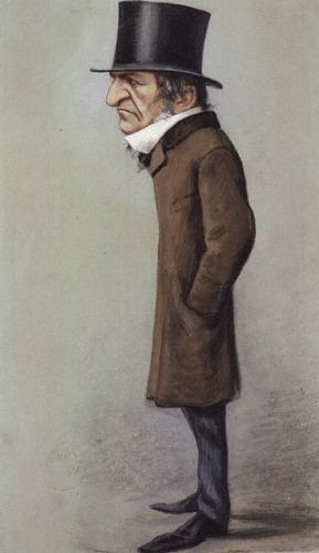 Gladstone as caricatured by Vanity Fair in 1869. WE Gladstone, Vanity Fair, 1869-02-06, crop.jpg