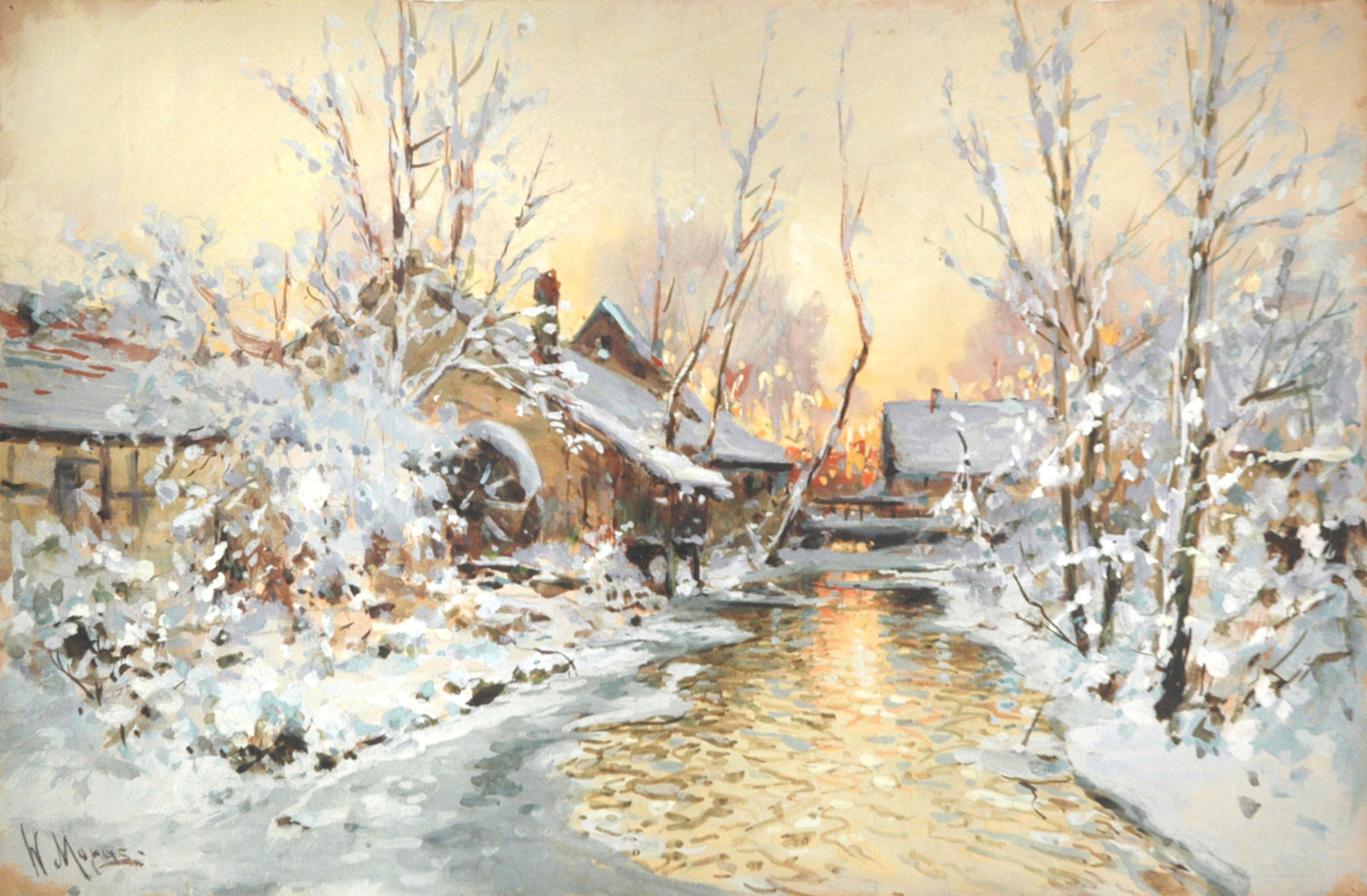 Зимние пейзажи фото высокого разрешения