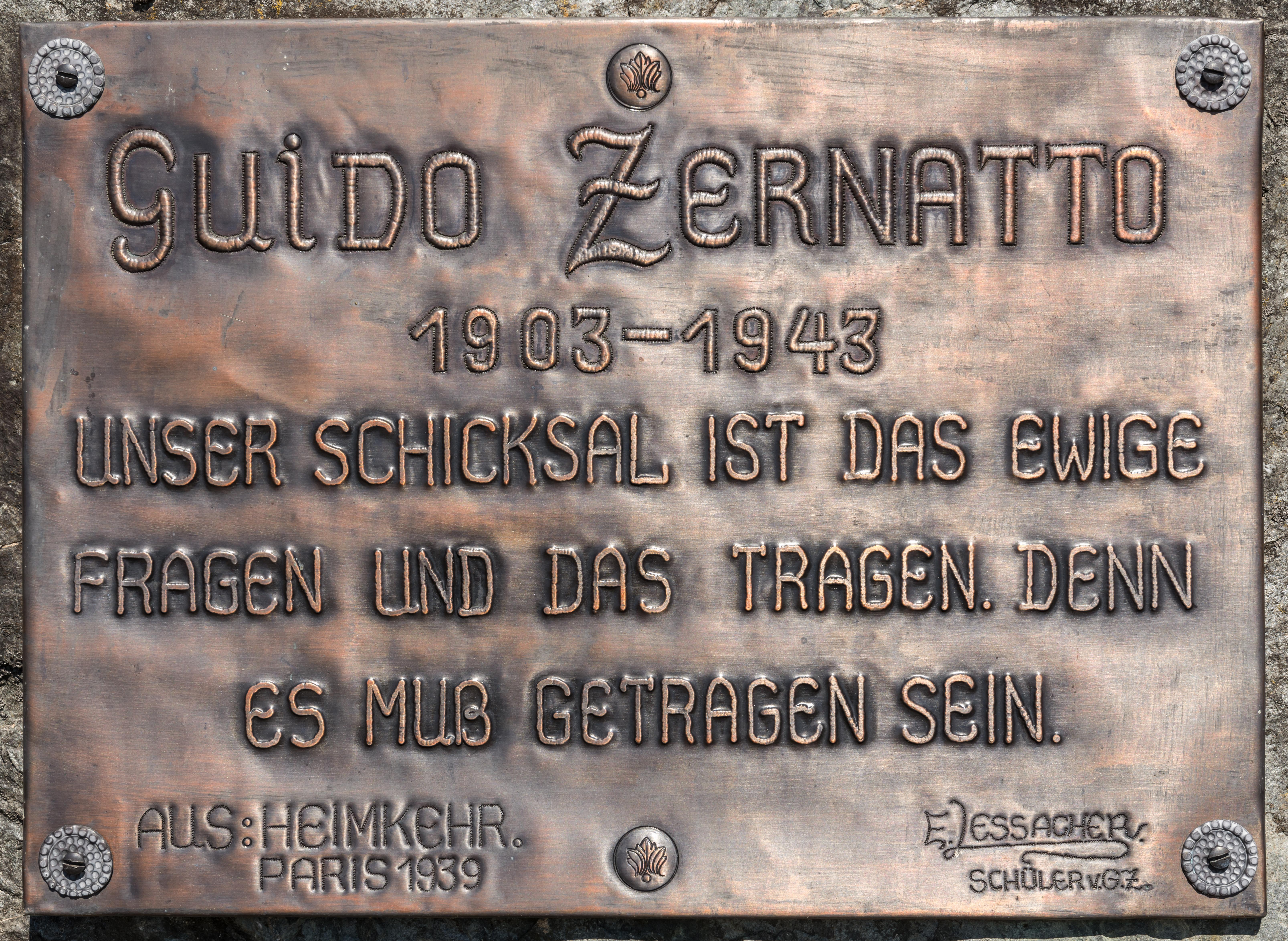 Guido Zernatto Wikipedia