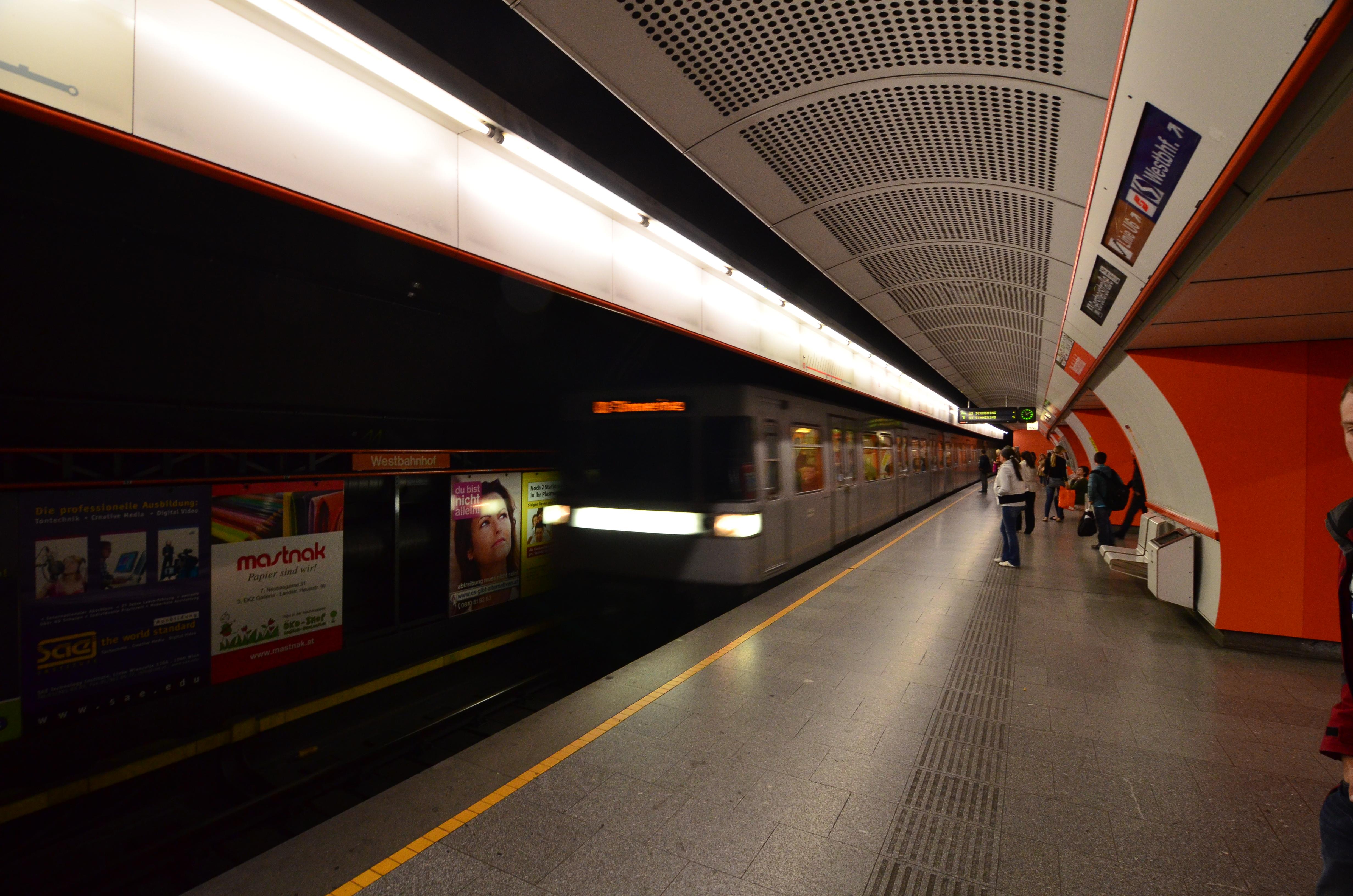 Westbahnhof Vienna U Bahn Mapionet
