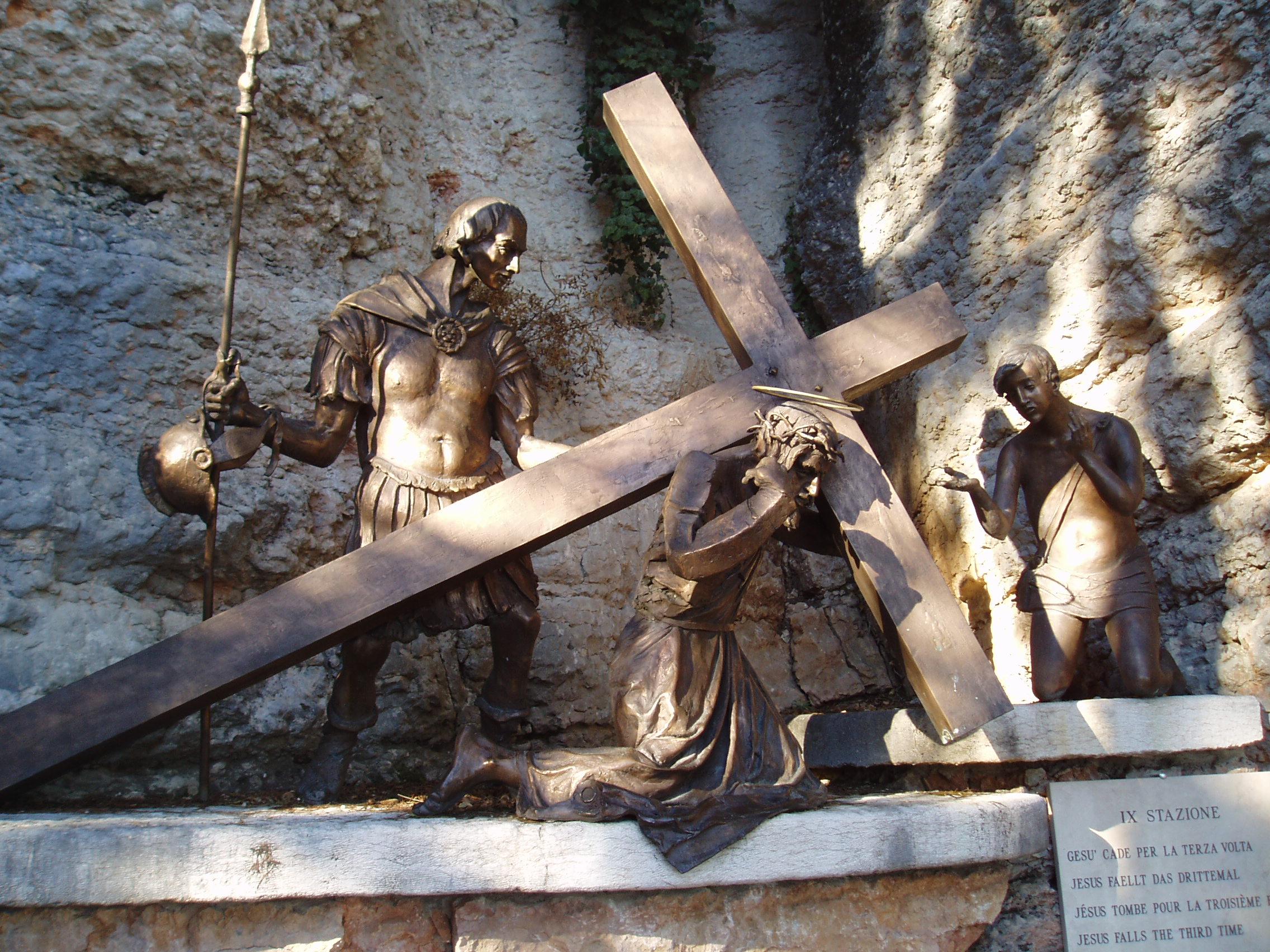 Santuario Madonna della Corona - X Stazione