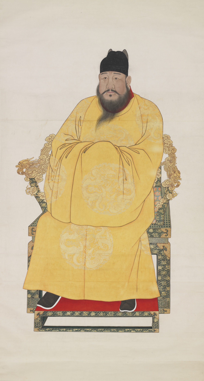Court portrait of the Xuande Emperor