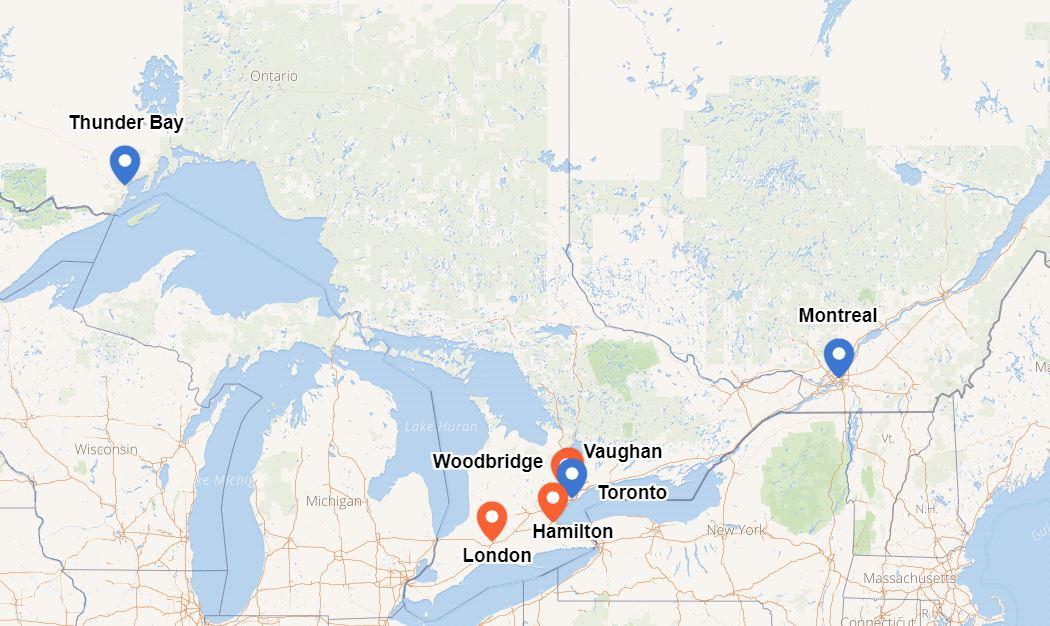 Incontri Ontario